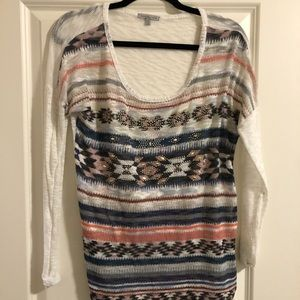 Aztec casual top